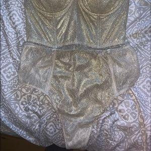 Victoria secret bra and thong set